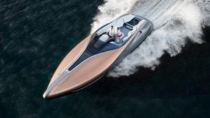 Lexus Sport Yacht concept, le foto della coupé del mare