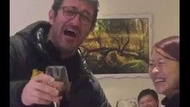 Ciro Ferrara show in Cina. E canta in napoletano