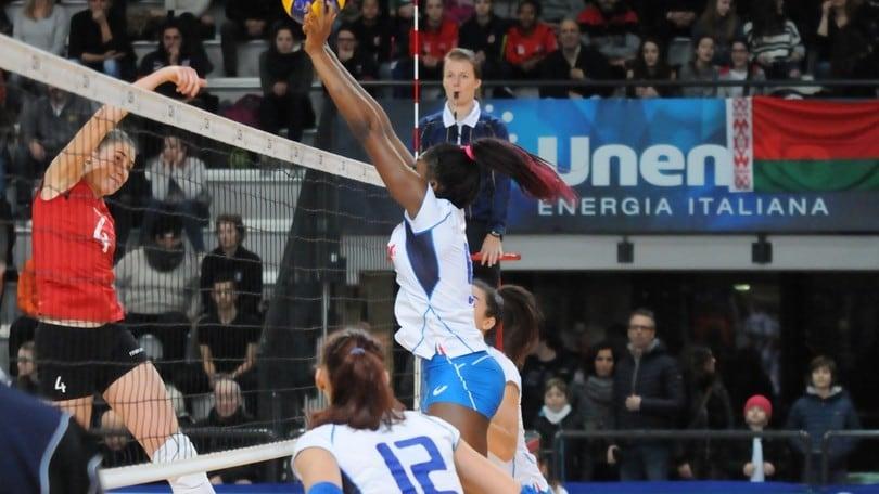 Volley: Qualificazioni Europee, l'Under 18 Femminile inciampa sulla Bielorussia