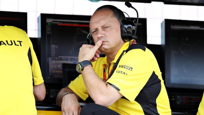 F1 Renault, Vasseur: «È stata dura per Hulkenberg»