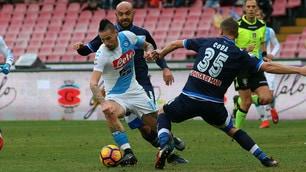 Napoli-Pescara: il film della partita