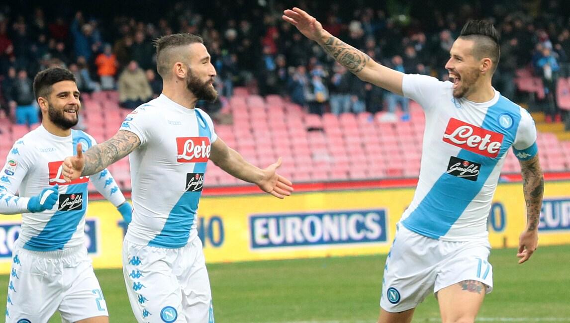 Manca Maradona, ma la squadra è sul pezzo: Napoli-Pescara 3-1