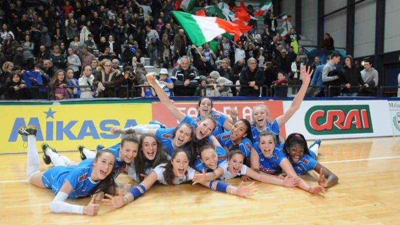 Volley: Qualificazioni Europee, l'U18 Femminile vince e approda alla fase finale
