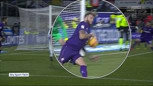 Fiorentina-Juventus, Rodriguez di braccio: era rigore