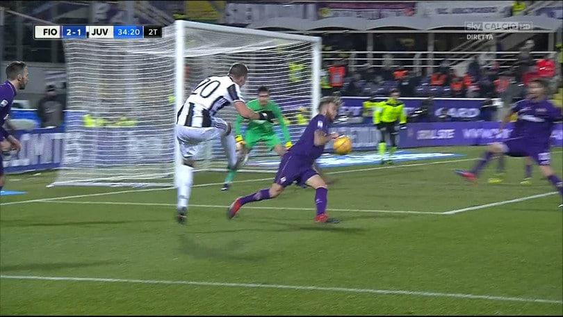 Fiorentina-Juventus, i casi più spinosi da moviola
