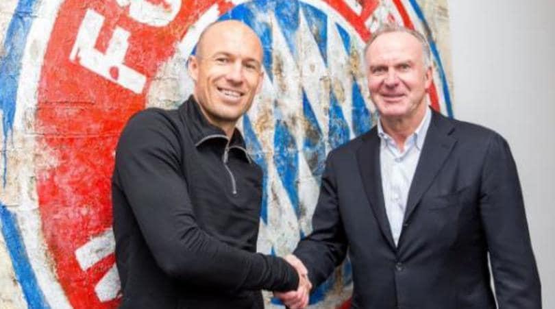 Il Bayern blinda Robben: prolungato il contratto fino al 2018