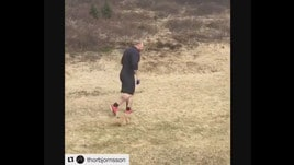 «La Montagna che Cavalca» si allena con il volpino