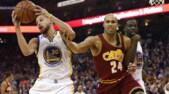Curry asfalta Cleveland, +35 per Golden State