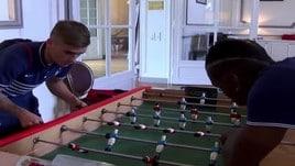 Griezmann-Pogba, chi vince a biliardino?