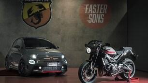 Yamaha XSR900 Abarth: foto