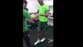Chapecoense, buona notizia: Neto cammina