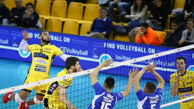 Volley: Champions League, Modena fatica ma batte l'