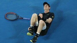 Paura per Andy Murray: che caduta agli Australian Open!
