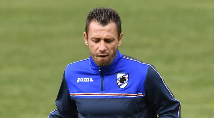 Cassano pronto a rescindere con la Sampdoria: ritiro se non arriva una chiamata dalla A