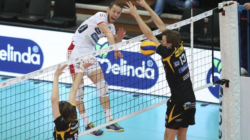 Volley: Coppa Cev, Trento missione compiuta con l' Hurrikaani