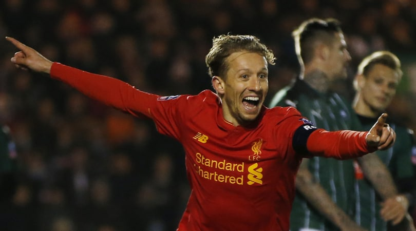 FA Cup: Plymouth-Liverpool 0-1, Lucas Leiva qualifica i Reds