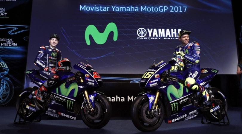 MotoGp, presentata la nuova Yamaha M1