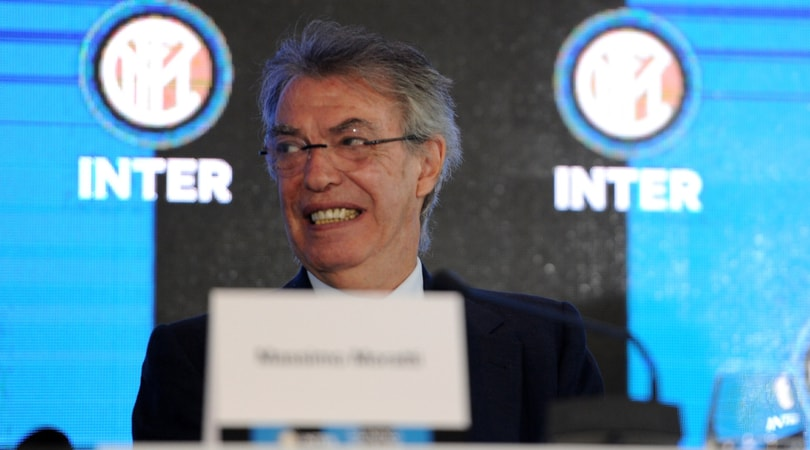 Moratti: «L'Inter sarà l'anti-Juventus il prossimo anno»