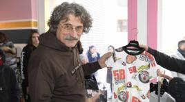 Paolo Simoncelli, ospite del Pitti, presenta la collezione dedicata a Marco