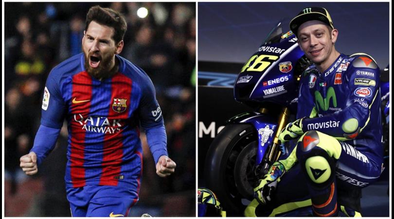Valentino Rossi: «Messi non ha rinnovato perché sta aspettando l'Inter»