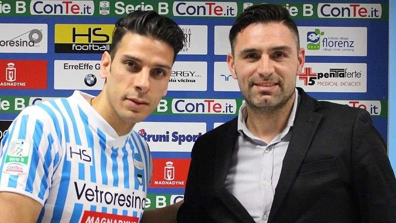 Spal, ufficiale Floccari: contratto fino al 2018
