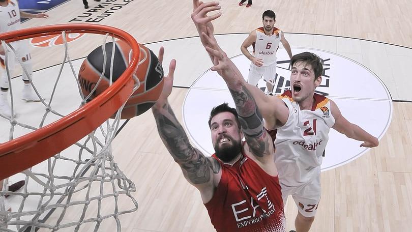Basket Eurolega, Milano si sblocca con il Galatasaray