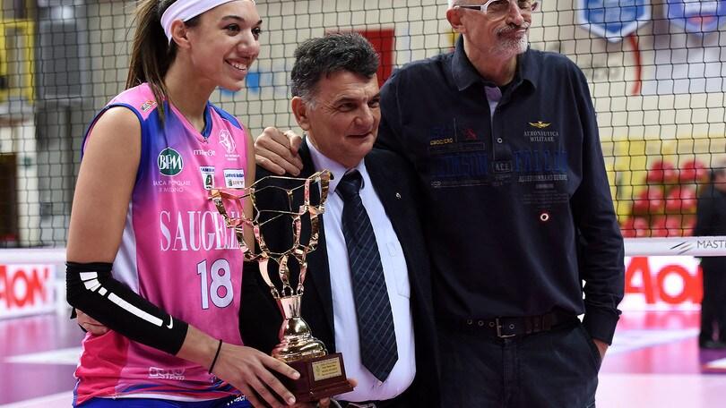 Volley: La Saugella Monza vince il Trofeo Mimmo Fusco