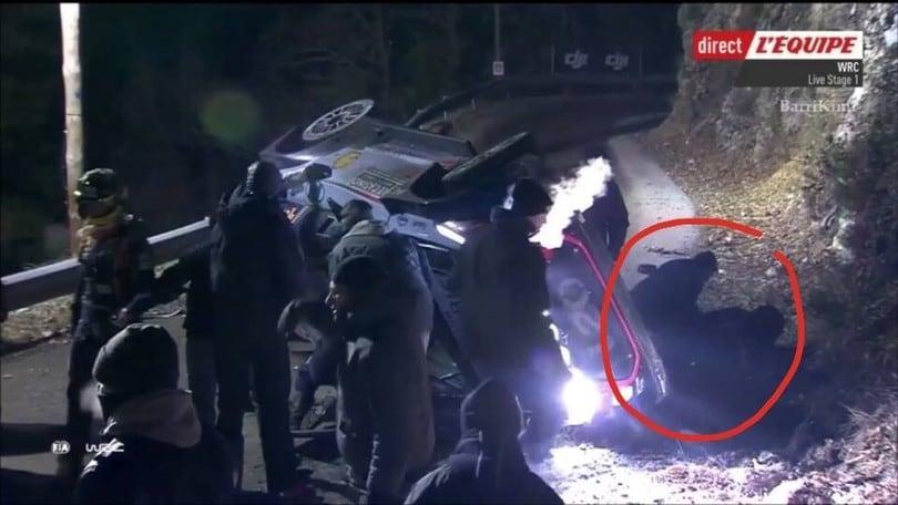 Rally di Montecarlo, muore spettatore investito da Paddon