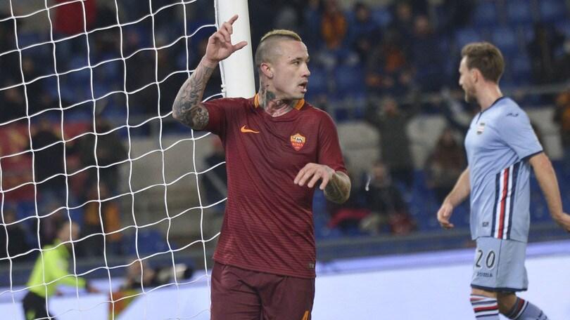 Roma-Sampdoria, Nainggolan ora è un bomber: 7 gol, già battuto il suo record
