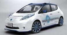 Nissan, al via i test per la guida autonoma in UK