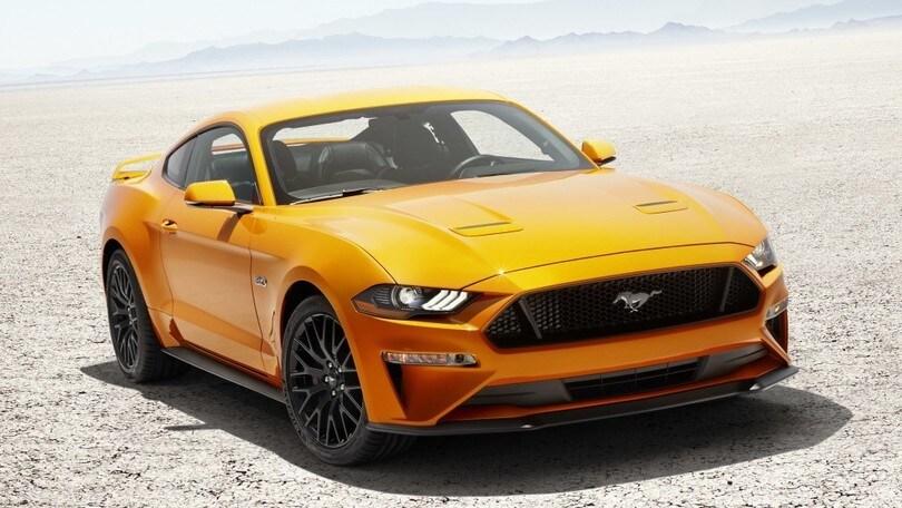 Ford Mustang, arriva il cambio automatico a 10 marce