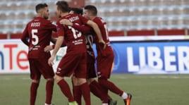 Serie B, il Trapani si rialza: 2-1 in rimonta al Novara