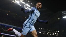 Manchester City, gol annullato all'esordio per Gabriel Jesus