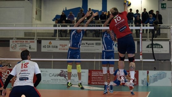 Volley: A2 Maschile Girone Blu, Civita Castellana fa il colpo a Mondovì