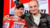 MotoGP, Domenicali: «In Ducati Lorenzo può vincere più di Stoner»