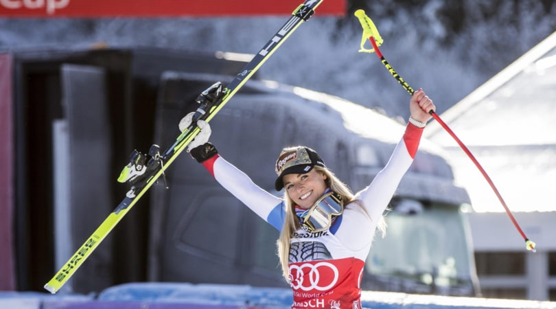 SuperG Garmisch: vince Lara Gut, 6ª Elena Curtoni