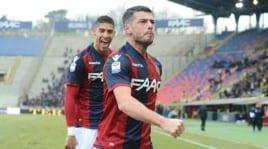 Serie A: Bologna-Torino 2-0, le immagini della doppietta di Dzemaili