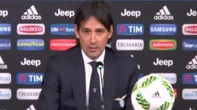 """Inzaghi: """"Abbiamo perso meritatamente"""""""