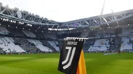 Logo della Juventus, l'esordio allo Stadium