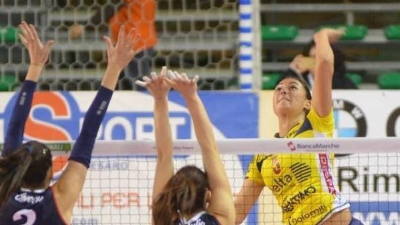 Volley: A2 Femminile, Filottrano contro Cisterna, Pesaro ospita Palmi