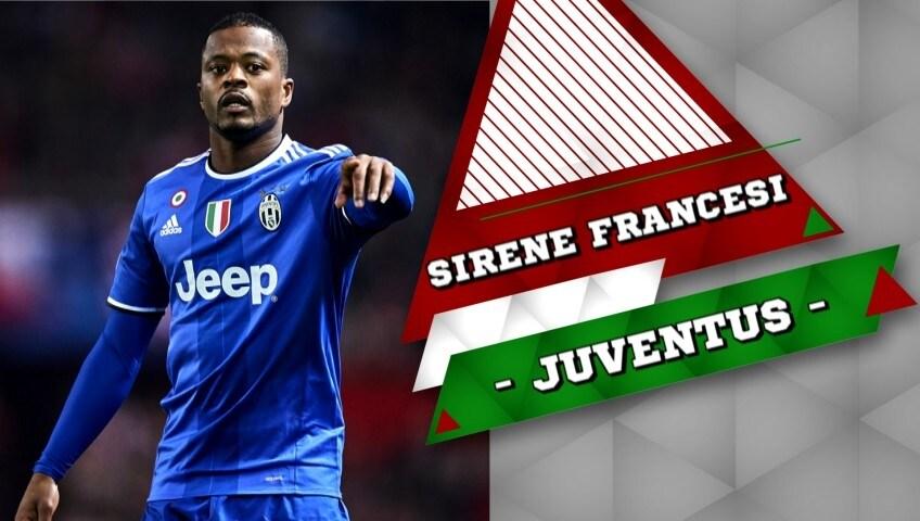 Juventus, Lione e Marsiglia vogliono Evra