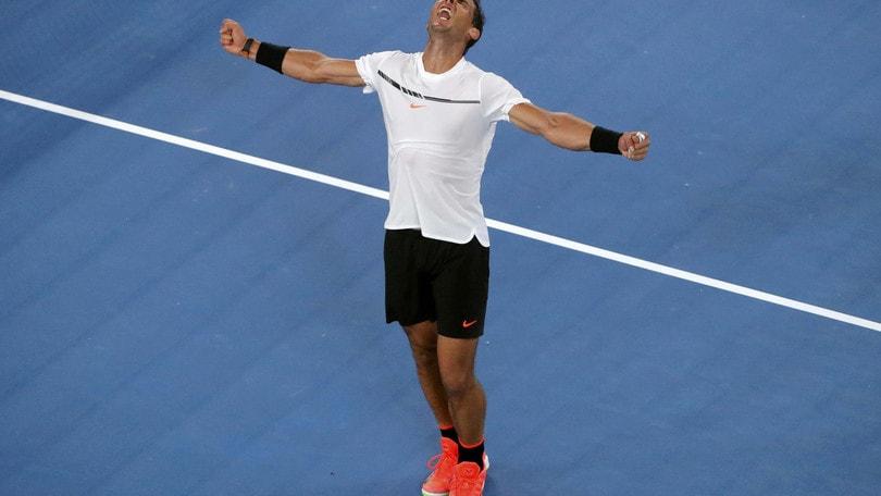 Tennis: Australian Open, Nadal avanti su Raonic