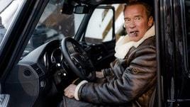 Schwarzenegger si converte all'elettrico con la Kreisel Electric G-Wagon
