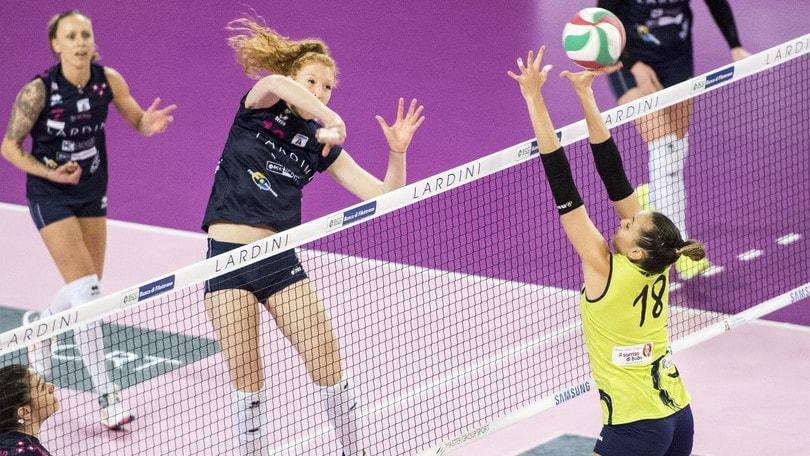 Volley: Coppa Italia A2 femminile, stasera Filottrano-Palmi domani le altre partite