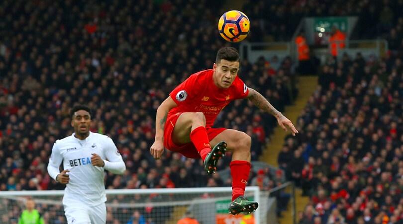 Colpo di calciomercato in casa per il Liverpool, che blinda Coutinho a peso d'oro