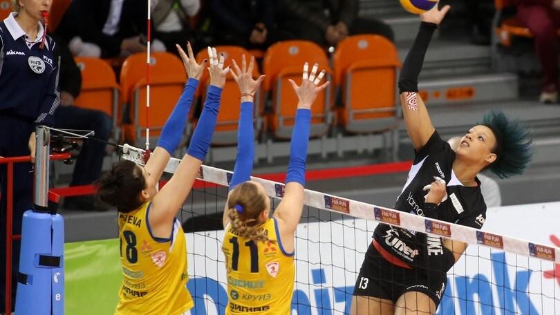 Volley: Cev Femminile, per la UYBA missione compiuta in Bulgaria