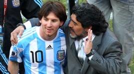 Maradona:«Non ho mai visto nessuno come Messi»