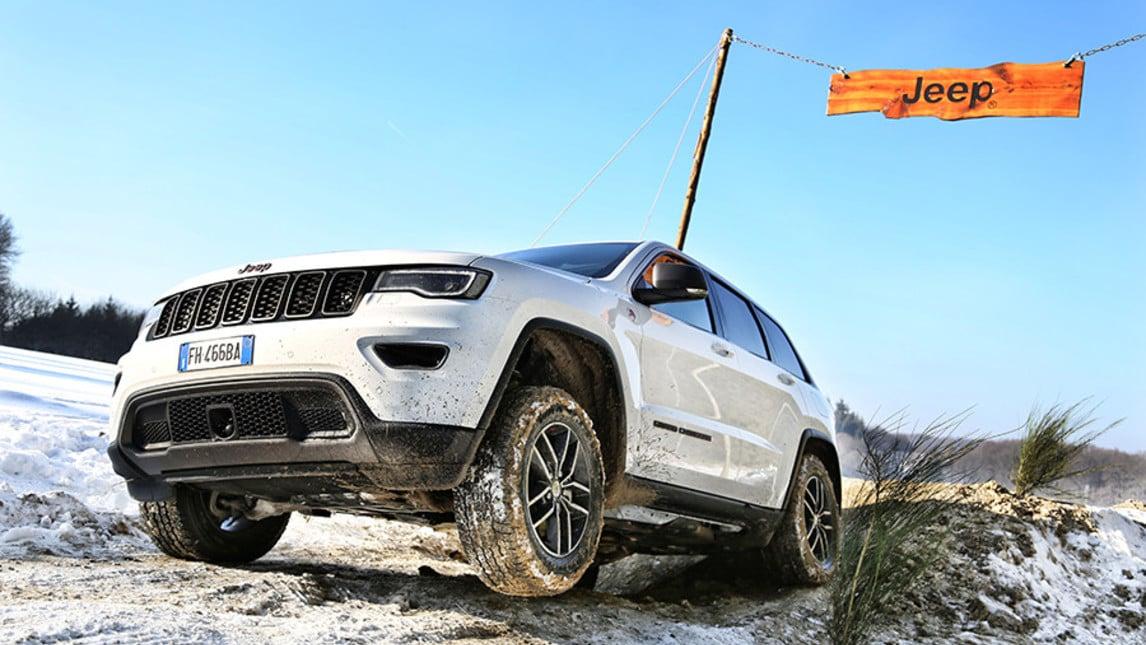 Jeep Grand Cherokee, a prova di estremo