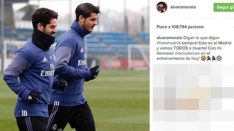 Calciomercato, Morata allontana le voci di addio: «Forza Real»