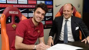 Grenier firma con la Roma: primo giorno a Trigoria